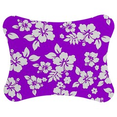 Purple Hawaiian Jigsaw Puzzle Photo Stand (bow)
