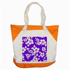 Violet Hawaiian Accent Tote Bag