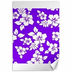 Violet Hawaiian Canvas 24  x 36