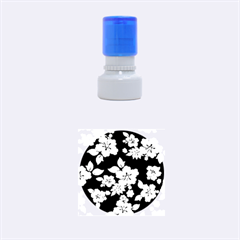 Violet Hawaiian Rubber Round Stamps (Small)