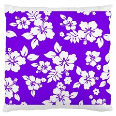 Violet Hawaiian Large Cushion Case (two Sides)