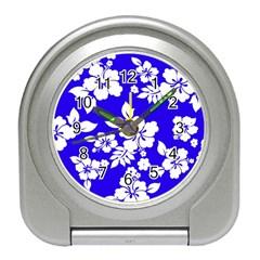 Deep Blue Hawaiian Travel Alarm Clocks