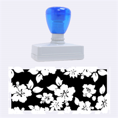 Deep Blue Hawaiian Rubber Stamps (Large)