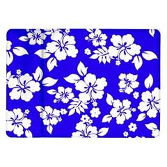 Deep Blue Hawaiian Samsung Galaxy Tab 10.1  P7500 Flip Case