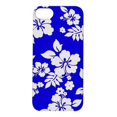 Deep Blue Hawaiian Apple iPhone 5S/ SE Hardshell Case