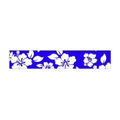 Deep Blue Hawaiian Flano Scarf (mini)