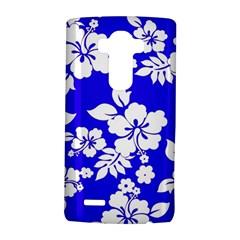 Deep Blue Hawaiian LG G4 Hardshell Case