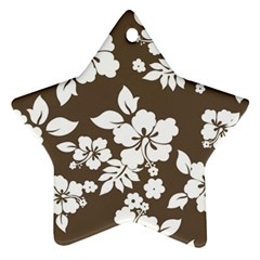 Sepia Hawaiian Ornament (Star)