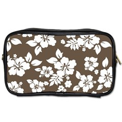Sepia Hawaiian Toiletries Bags