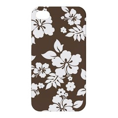 Sepia Hawaiian Apple iPhone 4/4S Hardshell Case