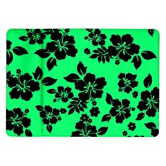 Dark Lime Hawaiian Samsung Galaxy Tab 10.1  P7500 Flip Case