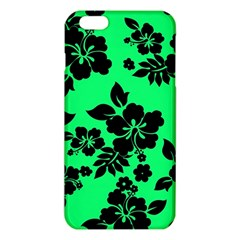 Dark Lime Hawaiian Iphone 6 Plus/6s Plus Tpu Case