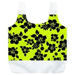Dark Hawaiian Full Print Recycle Bags (L)