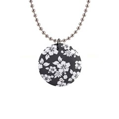 Gray Hawaiian Button Necklaces