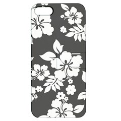 Gray Hawaiian Apple iPhone 5 Hardshell Case with Stand