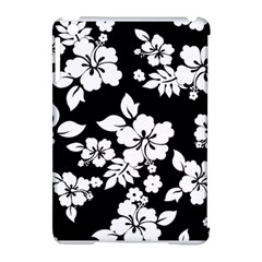 Black And White Hawaiian Apple iPad Mini Hardshell Case (Compatible with Smart Cover)