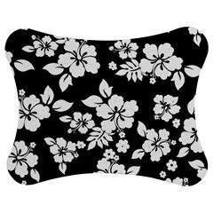 Black And White Hawaiian Jigsaw Puzzle Photo Stand (Bow)