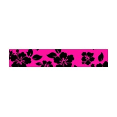 Dark Baby Pink Hawaiian Flano Scarf (mini)