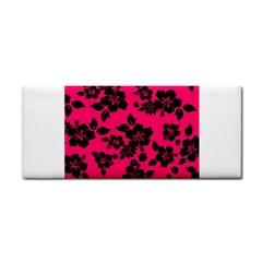 Dark Pink Hawaiian Hand Towel