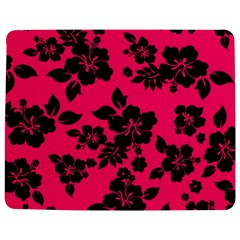 Dark Pink Hawaiian Jigsaw Puzzle Photo Stand (Rectangular)