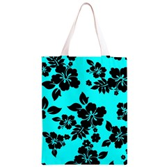 Blue Dark Hawaiian Classic Light Tote Bag