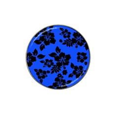 Dark Blue Hawaiian Hat Clip Ball Marker (10 pack)