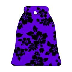Violet Dark Hawaiian Ornament (Bell)
