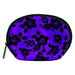 Violet Dark Hawaiian Accessory Pouches (Medium)