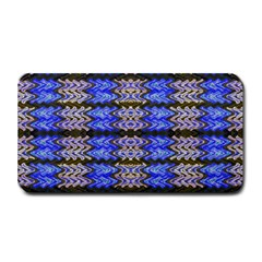 Pattern Tile Blue White Green Medium Bar Mats
