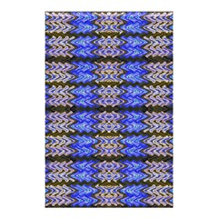 Pattern Tile Blue White Green Shower Curtain 48  x 72  (Small)
