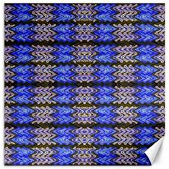 Pattern Tile Blue White Green Canvas 20  x 20