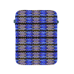 Pattern Tile Blue White Green Apple iPad 2/3/4 Protective Soft Cases