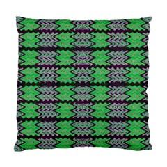Pattern Tile Green Purple Standard Cushion Case (One Side)