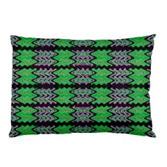 Pattern Tile Green Purple Pillow Case