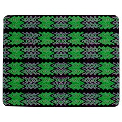 Pattern Tile Green Purple Jigsaw Puzzle Photo Stand (Rectangular)