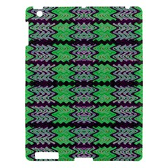 Pattern Tile Green Purple Apple iPad 3/4 Hardshell Case