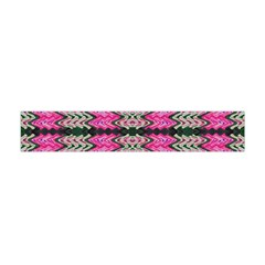 Pattern Tile Pink Green White Flano Scarf (Mini)