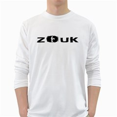 Licence To Zouk White Long Sleeve T Shirts