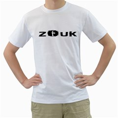 Licence To Zouk Men s T Shirt (white)
