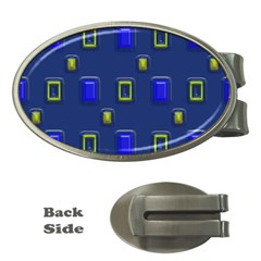 3D rectangles                                                                      			Money Clip (Oval)