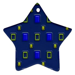 3D rectangles                                                                      			Ornament (Star)