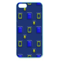 3D rectangles                                                                      Apple Seamless iPhone 5 Case (Color)