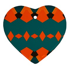 Rhombus and other shapes                                                                      Ornament (Heart)