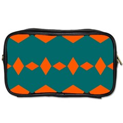 Rhombus And Other Shapes                                                                      			toiletries Bag (one Side)