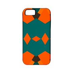 Rhombus and other shapes                                                                      			Apple iPhone 5 Classic Hardshell Case (PC+Silicone)