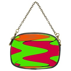 Wavy design                                                                        Chain Purse (Two Sides)