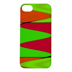 Wavy design                                                                        			Apple iPhone 5S Hardshell Case