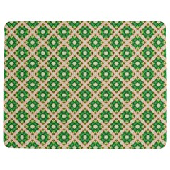 Crisscross Pastel Green Beige Jigsaw Puzzle Photo Stand (rectangular)
