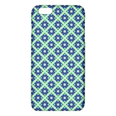 Crisscross Pastel Turquoise Blue iPhone 6 Plus/6S Plus TPU Case