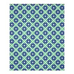 Crisscross Pastel Turquoise Blue Shower Curtain 60  X 72  (medium)
